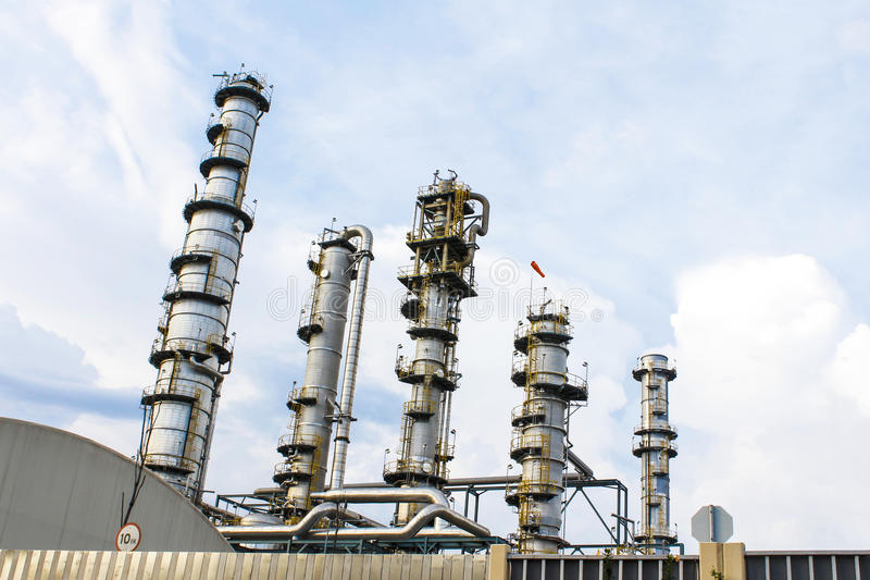 Download Refinery tower stock image. Image of refinery, tower - 26815279
