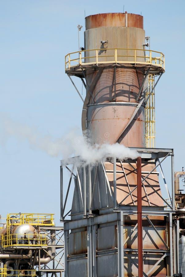 Refinery Turbine stock photo