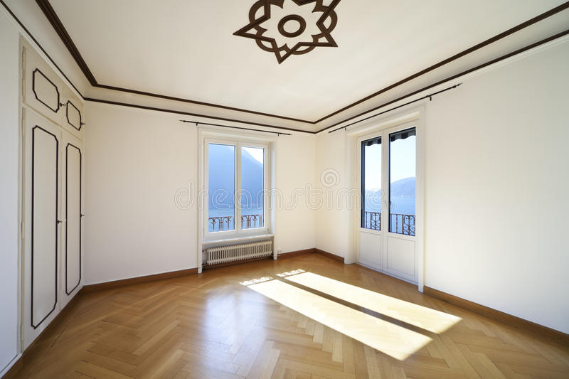 Refitted lovely apartment royalty free stock photos