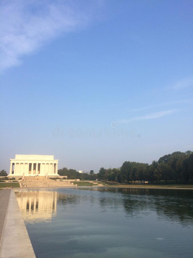 Reflect on memorials royalty free stock photography