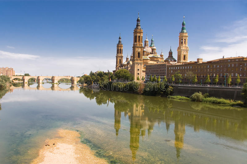 Download Reflect of the Pilar stock photo. Image of city, towers - 10586530