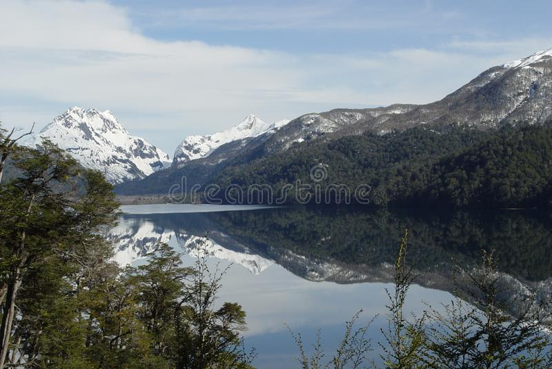 Download Reflected Mountains On The Lake Stock Image - Image: 5812553