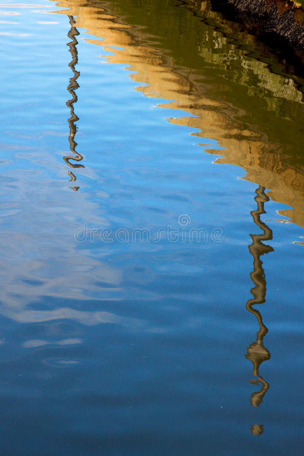 Reflected stock images