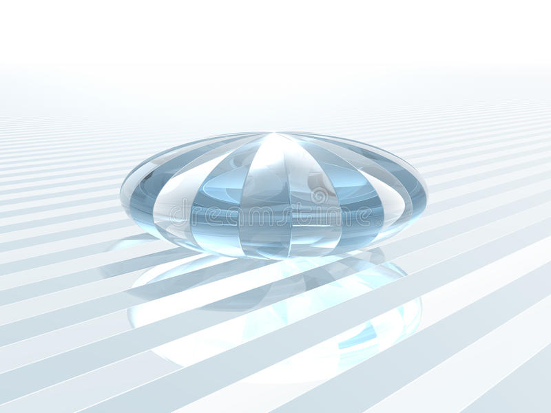 Download Reflecting Crystal Glass Object Royalty Free Stock Image - Image: 23617946