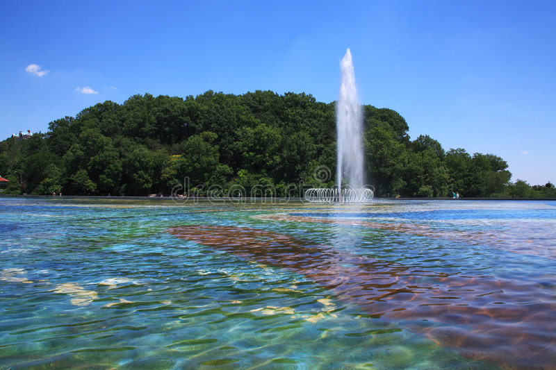 Download Reflecting Pool stock photo. Image of beauty, eden, wading - 7191418