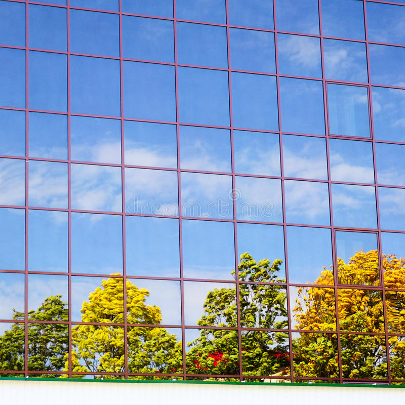 Download Reflection stock image. Image of cloud, mirror, building - 26716463