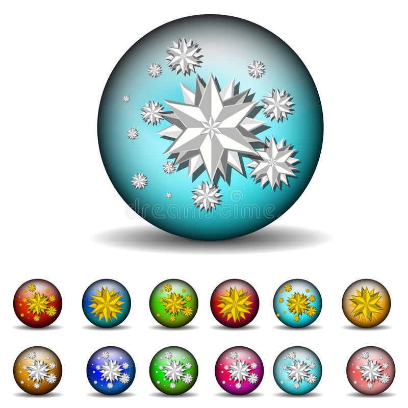 Reflection Ball Stock Image