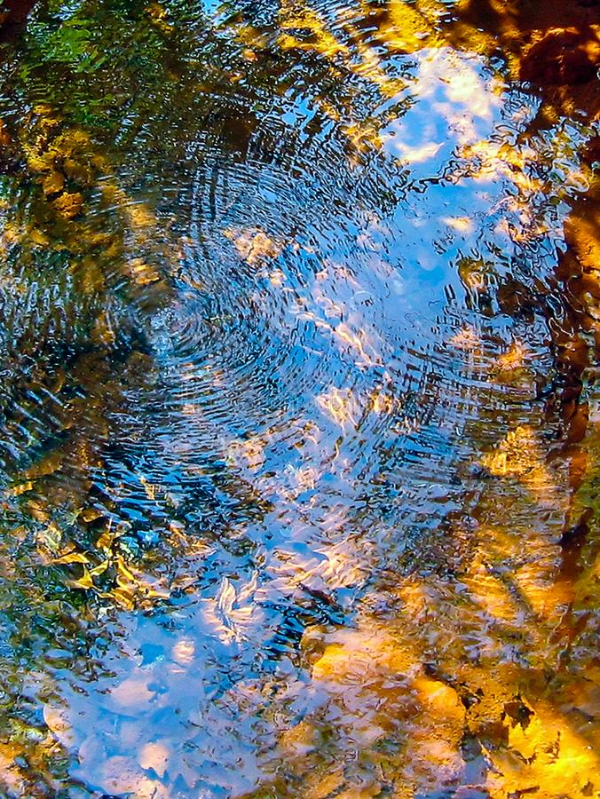 Download Reflection And Circle Waves Stock Photo - Image of transparent, detail: 103360230