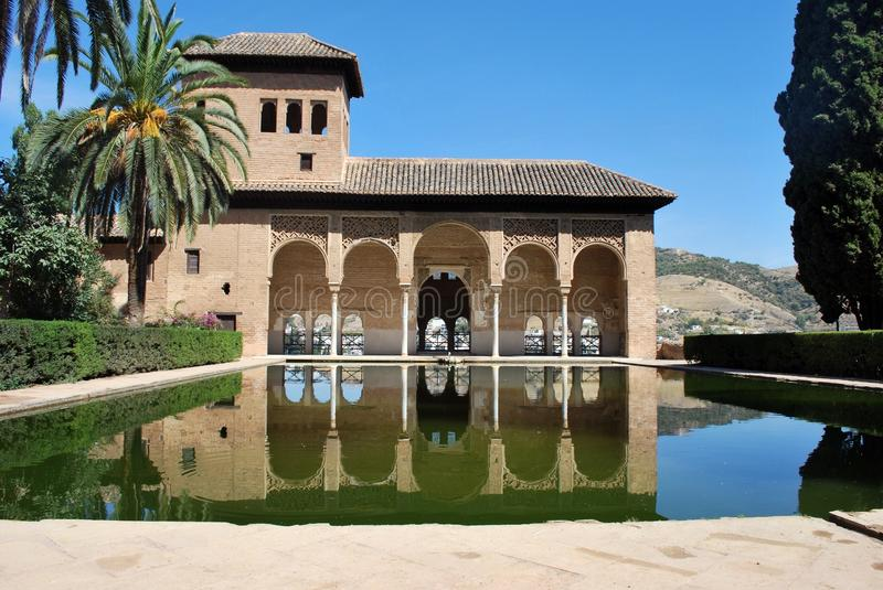 Reflection, Estate, Villa, Building royalty free stock image