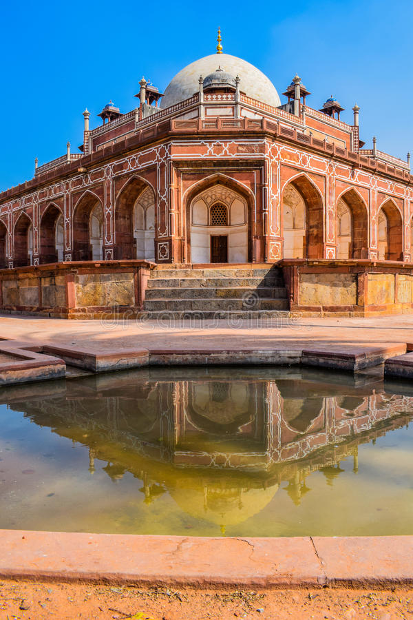 Humayus tomb stock images