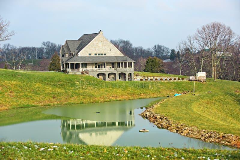 Reflection of a Farmhouse