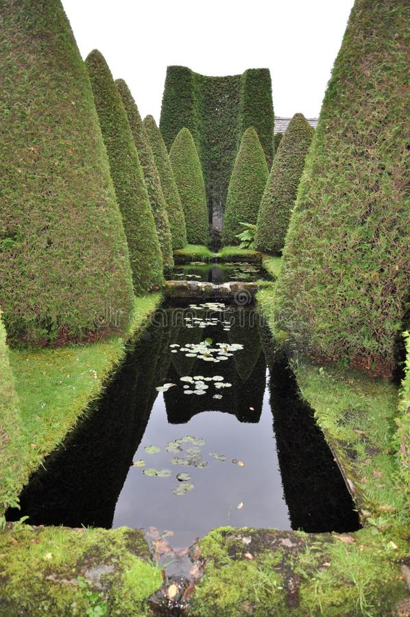 Reflection, Green, Nature, Water royalty free stock images