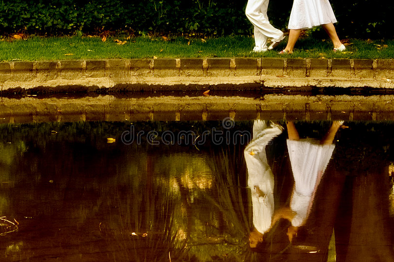 Reflection of Love royalty free stock image
