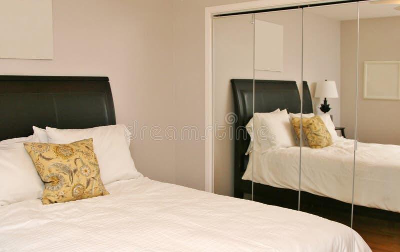 Download Reflection Of Modern Bedroom Stock Image - Image: 32543893