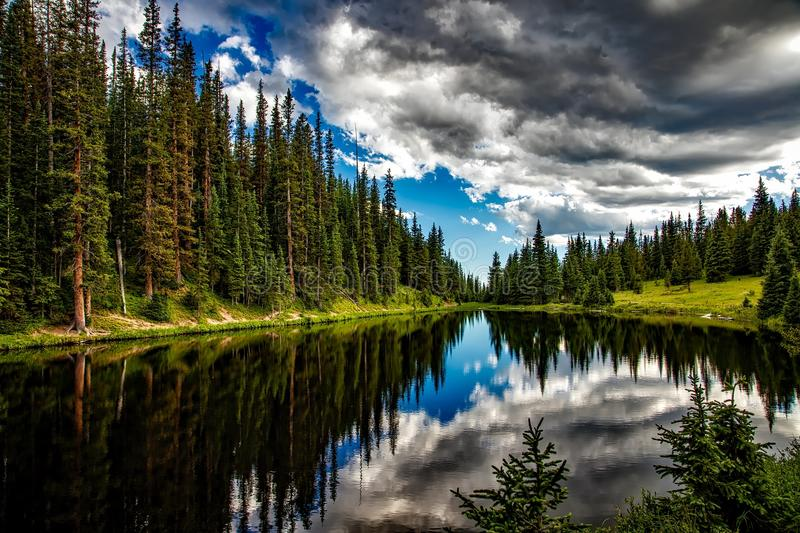 Reflection, Nature, Wilderness, Sky stock images