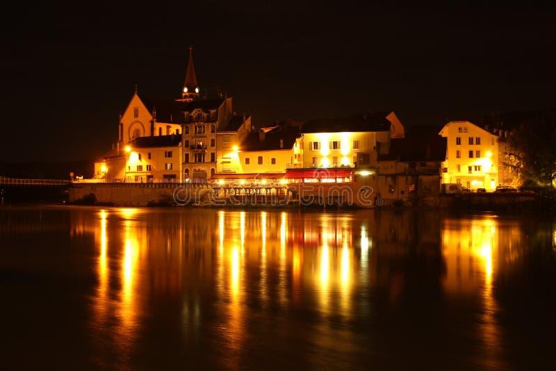 Reflection, Night, Landmark, City royalty free stock photography