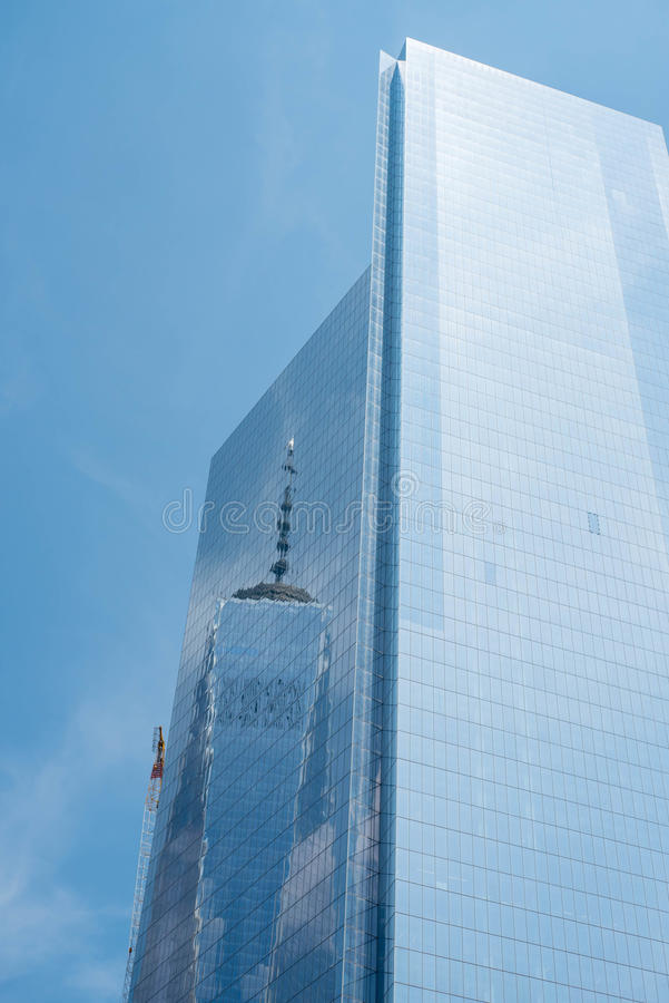 Reflection of One World , New York stock photography