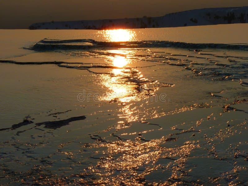 Reflection, Sea, Horizon, Sky royalty free stock photo