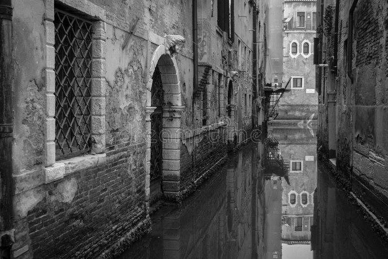Reflection in Venice royalty free stock photos