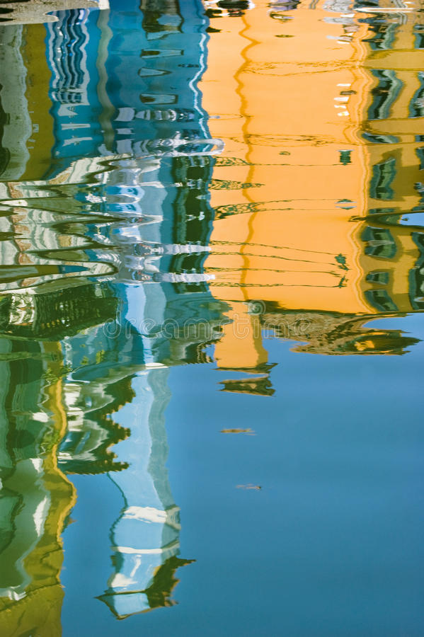 Reflection in water royalty free stock photo