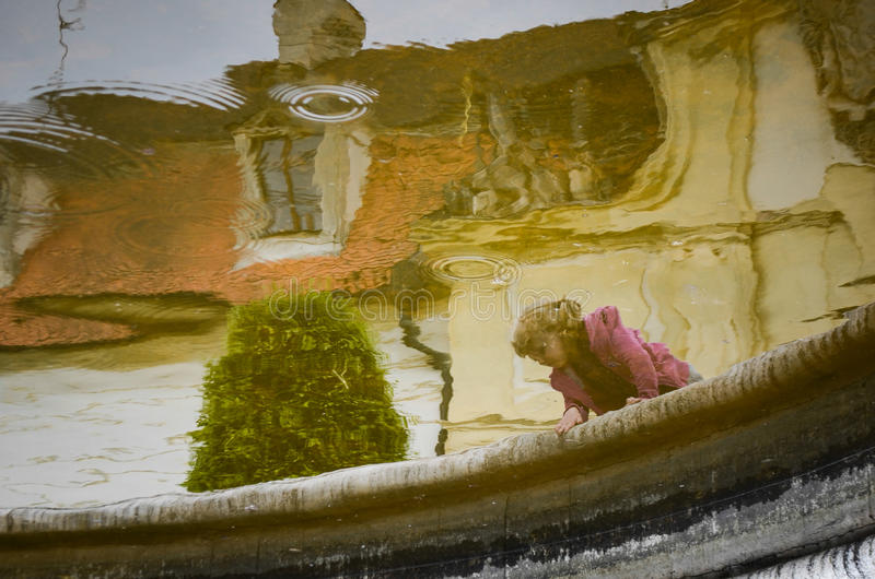 Download Reflection in a water stock image. Image of historic - 34194231