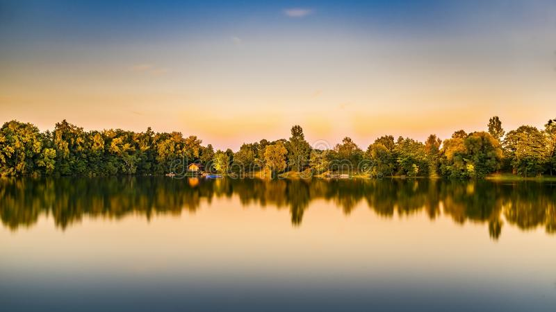 Reflection, Water, Nature, Sky royalty free stock images