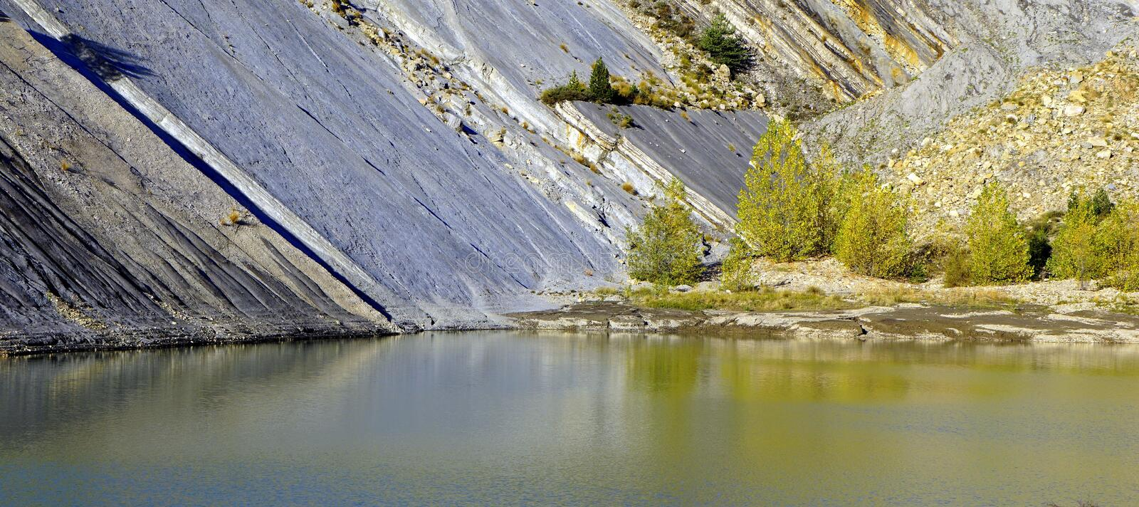 Reflection, Water, Reservoir, River royalty free stock photography