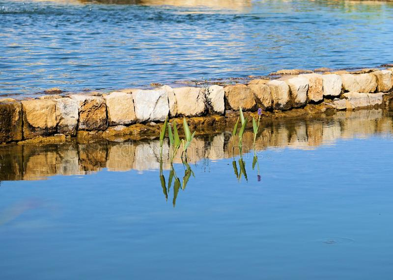 Reflection, Water, Sea, Water Resources stock photo