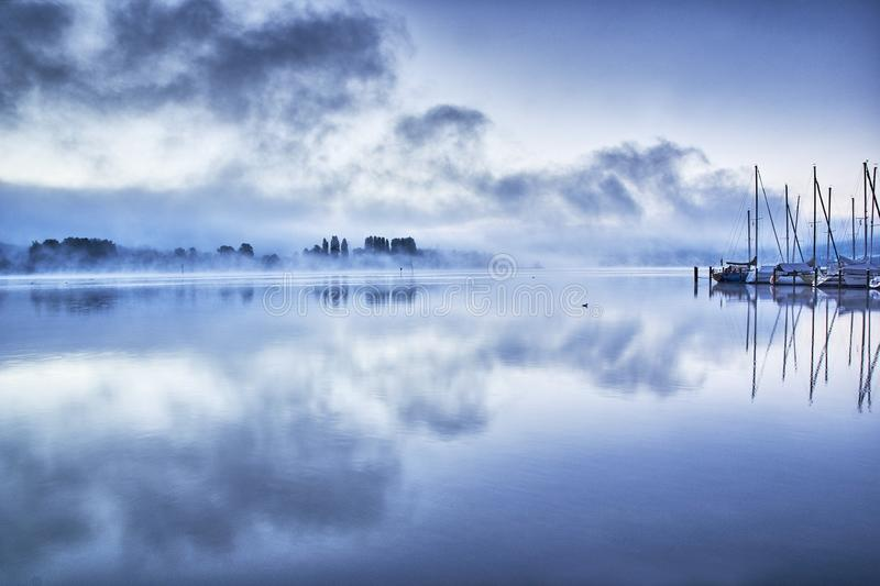 Reflection, Water, Sky, Calm stock images