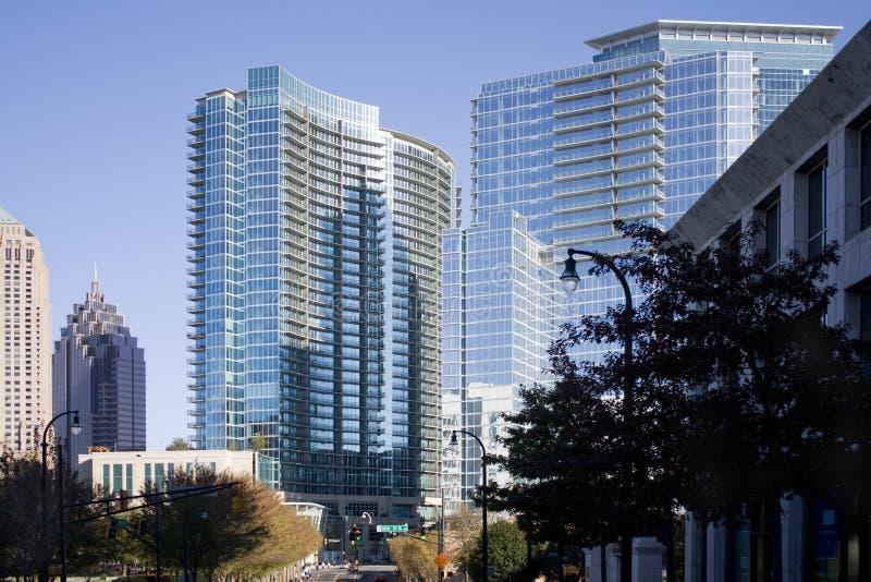 Download Reflections On The Atlanta Skyline Stock Photos - Image: 22658163
