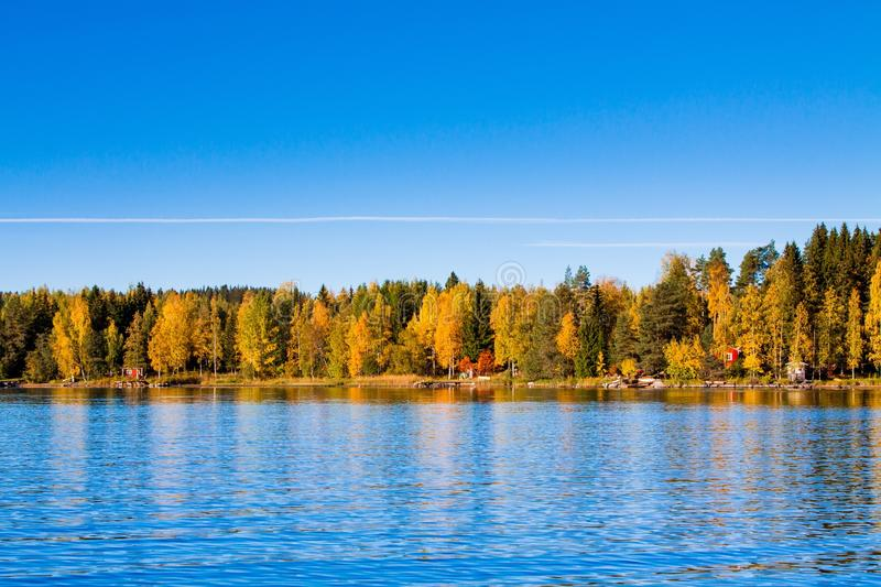 Reflections of Fall royalty free stock photography