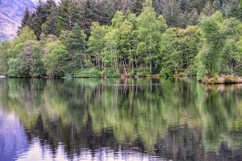 Reflections, Glencoe, Scotland royalty free stock photography