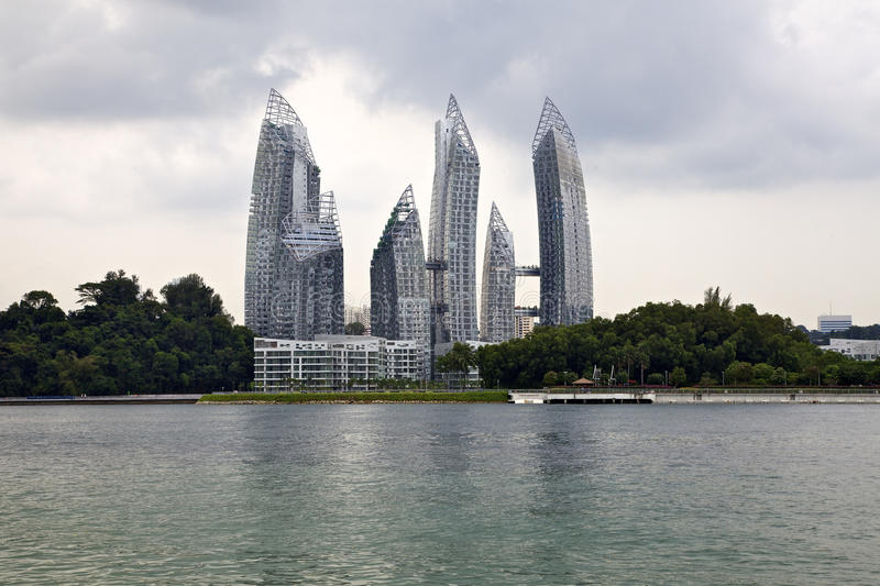 Reflections at Keppel Bay stock images