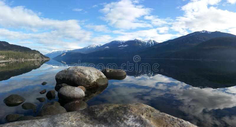 Reflections on the Lake royalty free stock photos