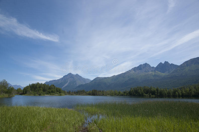 Download Reflections Lake Palmer Alaska Stock Photo - Image of refuge, pioneer: 56619712
