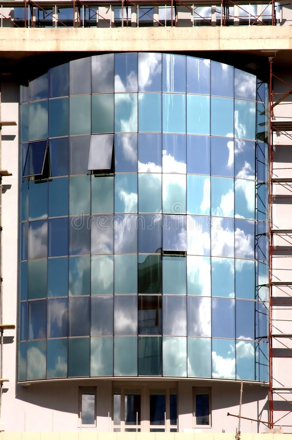 Reflections modern buildings 7