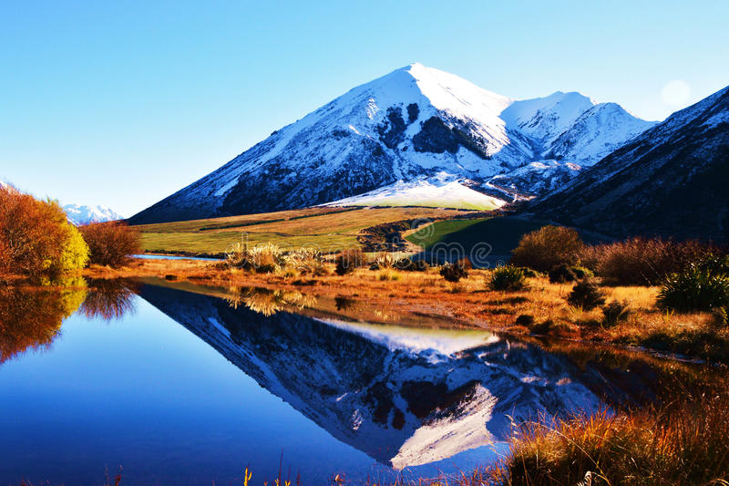 Reflections of the Mountains royalty free stock photos