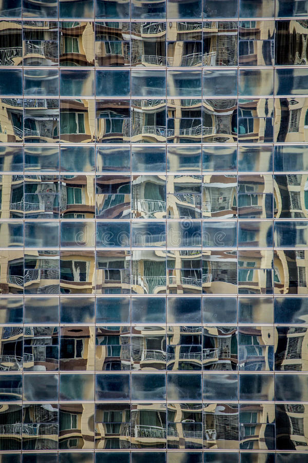 Download Reflections In Office Building Windows Stock Photo - Image of high, corporate: 76364138