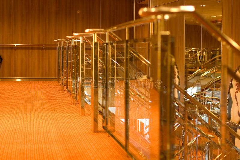 Download Reflective Brass Rails Royalty Free Stock Image - Image: 2316856
