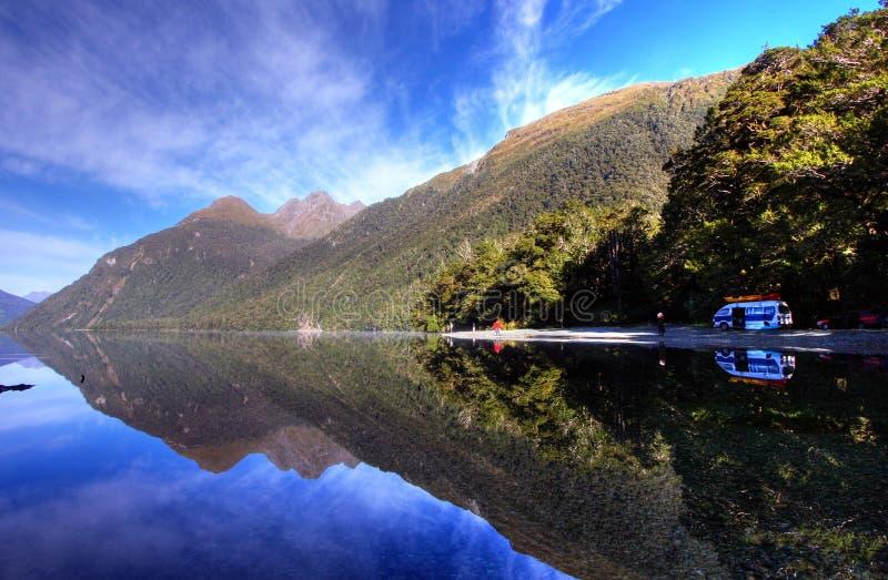 Refleje los lagos foto de archivo