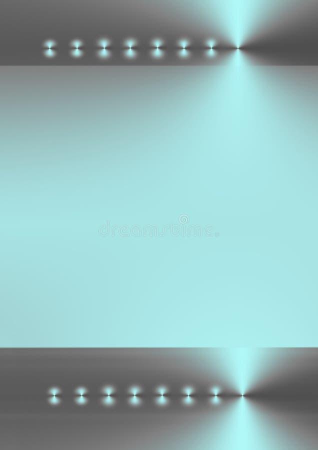 Reflejo ciánico abstracto libre illustration