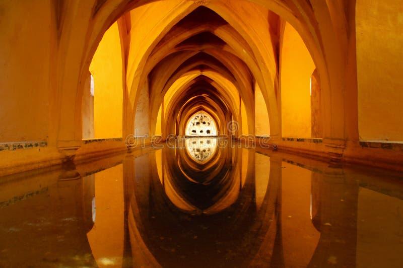 Reflejo en el agua foto de archivo