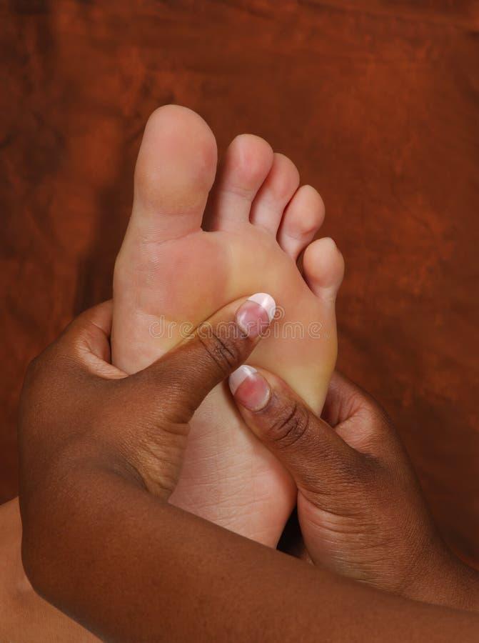 refleksologia nożna masaż. fotografia royalty free