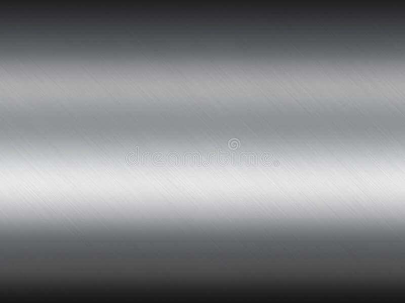 Reflektera metalltexturbakgrund vektor illustrationer