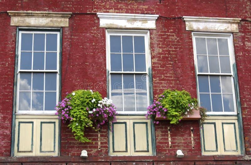 Reflekterande Windows av borttappade Tid arkivbild