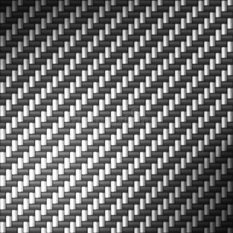 Reflektierende Kohlenstoff-Faser vektor abbildung