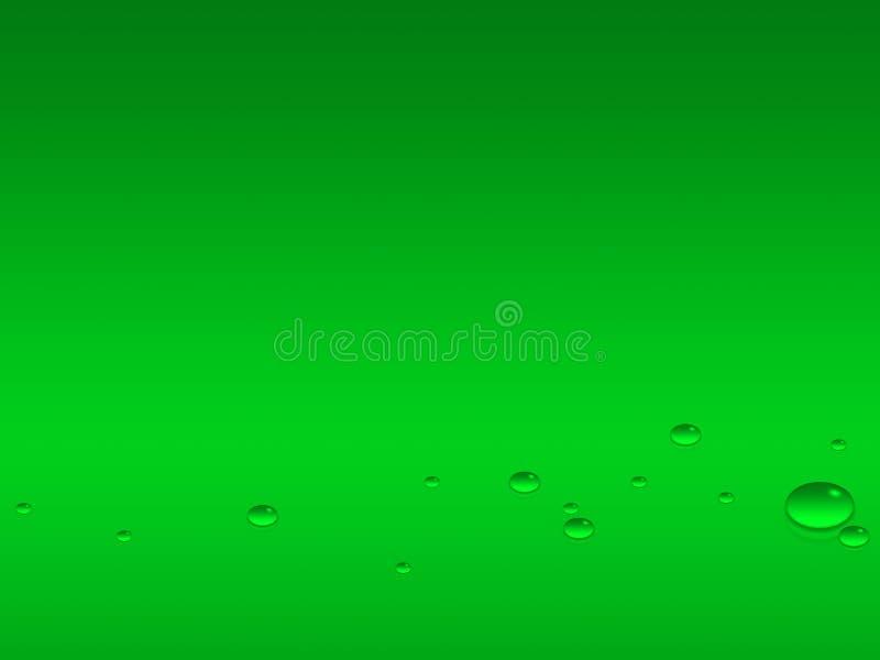 Reflektierte Tropfen vektor abbildung
