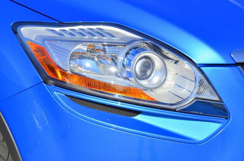 reflektorów samochodowi ksenony fotografia royalty free