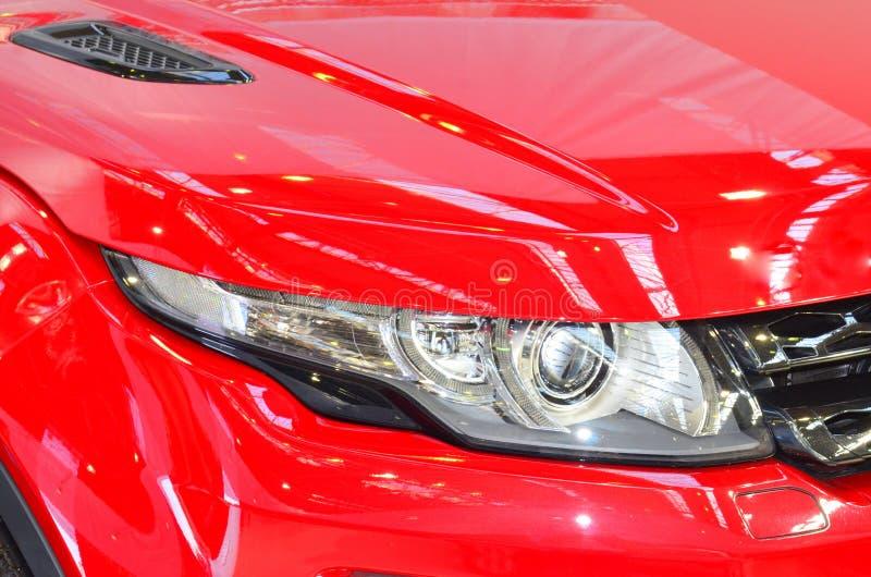 reflektorów samochodowi ksenony zdjęcia stock