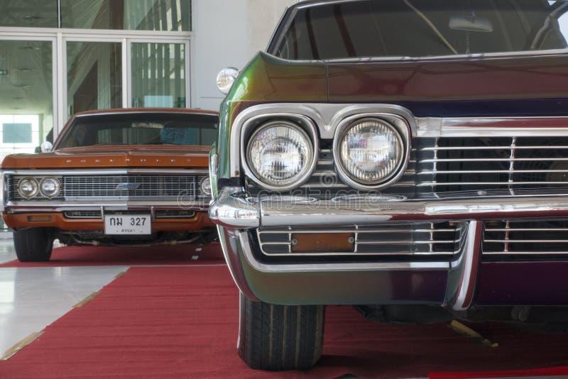 Reflektor Klasyczny samochód, Chevrolet obraz royalty free